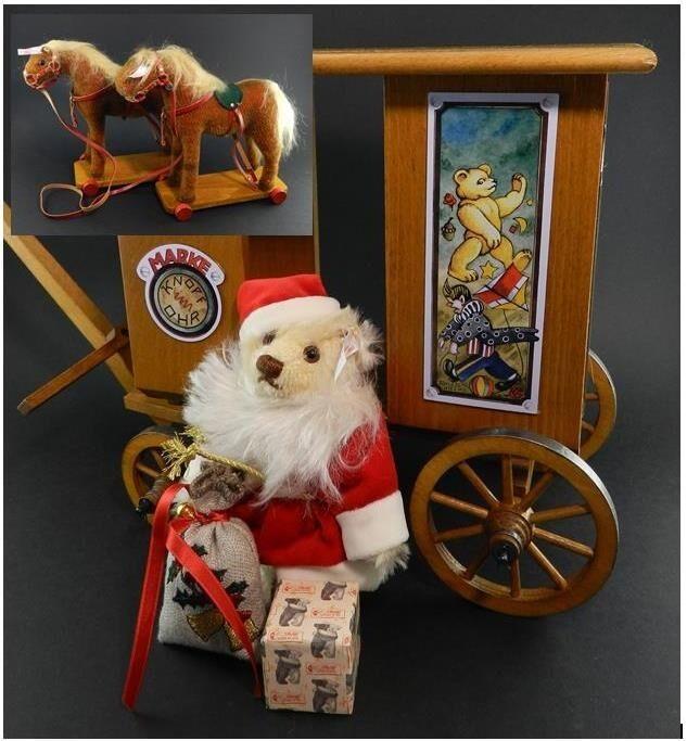 Steiff 2002 Ltd. Edition Santa's Express in Box w Papers