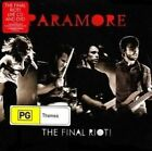 Paramore The Final Riot CD DVD Australian Version