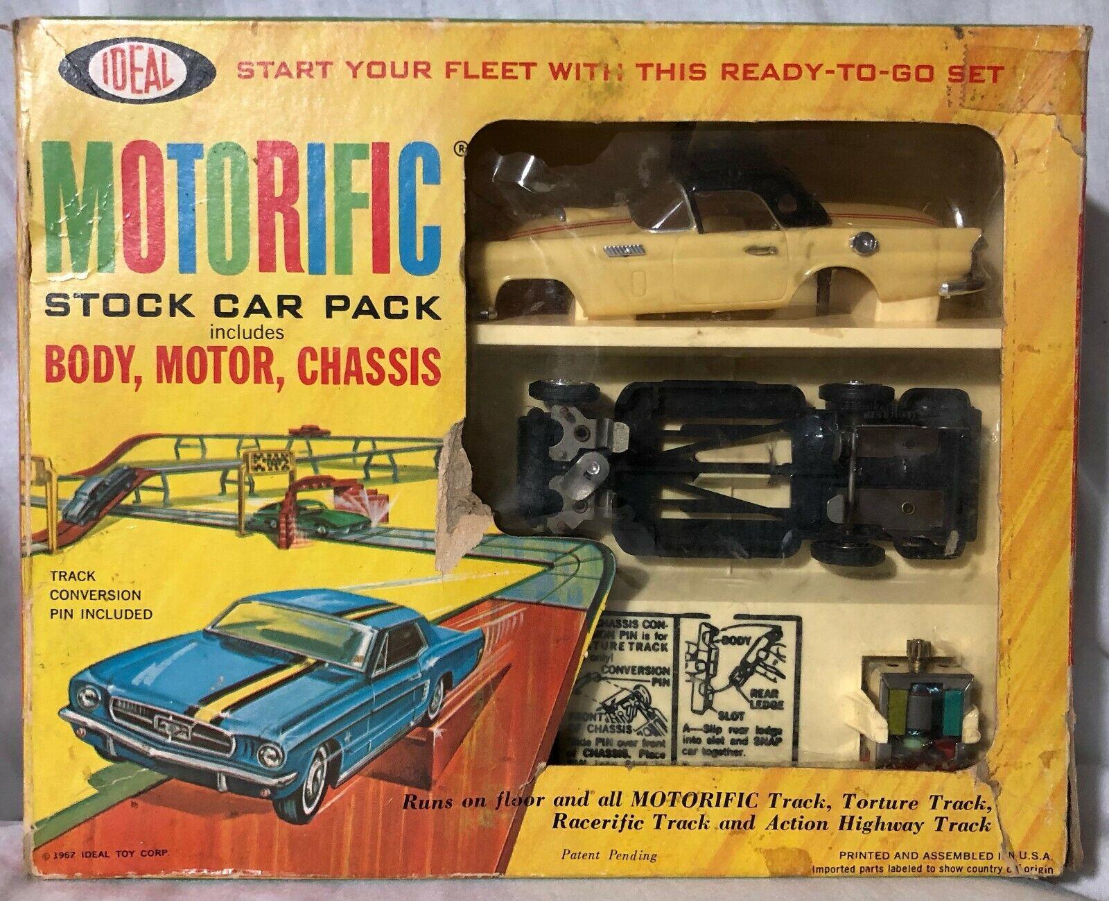 Vintage 1967 Ideal Motorific Ford T-Bird Classic Coupe Beautiful + Original Box