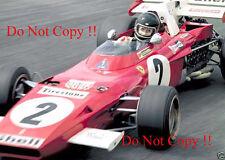 Jacky Ickx Ferrari 312 B2 Winner Dutch Grand Prix 1971 Photograph 1
