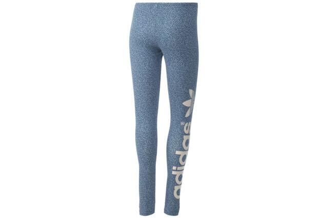 6898aad7258e Adidas Originals PATTERNED TREFOIL LEGGINGS Tight Yoga Running Gym Pant~Women  XS