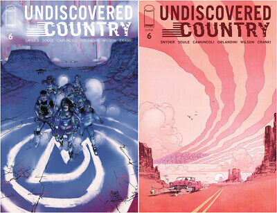 UNDISCOVERED COUNTRY #4 NM Image