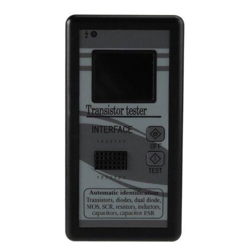 Color TFT LCD Transistor Tester Diode Triode Capacitance Meter LCR ESR Q7E7