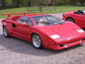 1989 Lamborghini Countach 25th Anniversary Edition Ebay