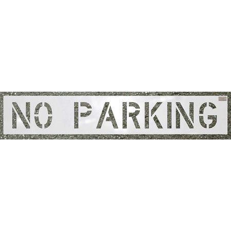 HANSON 70002 Stencil,No Parking,30 x 46 In C.H