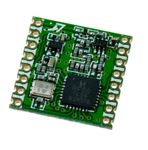 20 dBm FSK SPI RFM69HCW-868-S2 HopeRF 868MHz Funkmodul ISM Transceiver