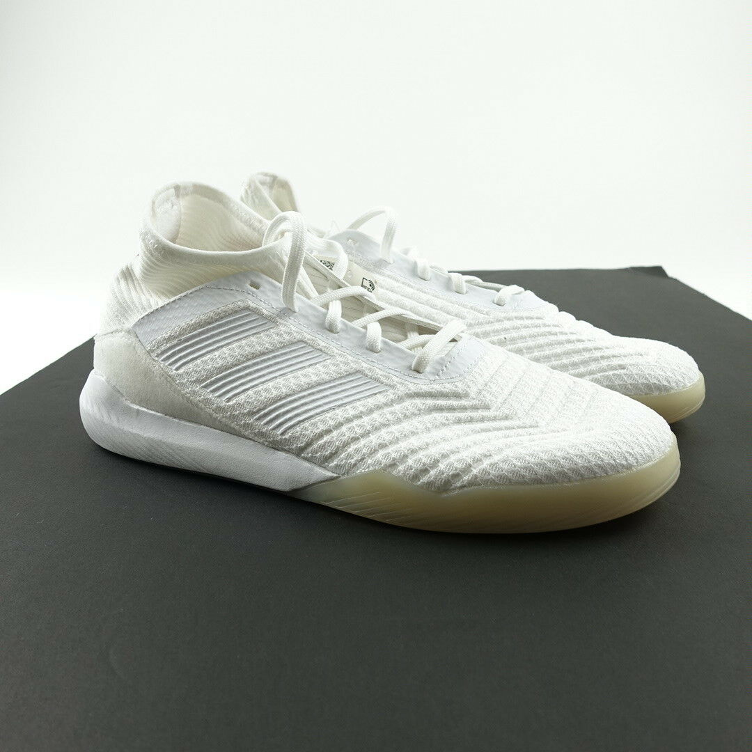 Adidas Originals män Storlek 7.5 Prödator Tango 18.3 Football skor vit CM7703