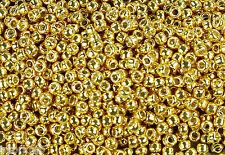 11/0 TOHO Glass Seed Beads #PF557- Permanent Finish Galvanized Starlight 15g