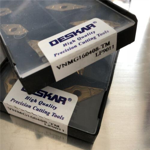 DESKAR 10pcs VNMG160408-TM LF9011 VNMG332-TM FOR steel stainless steel cast iron