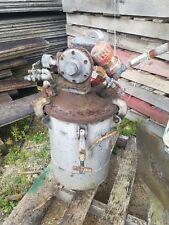 Binks Pressure Paint Pot For Wet Spray Painting D 5404 Withpneumatic Agitation