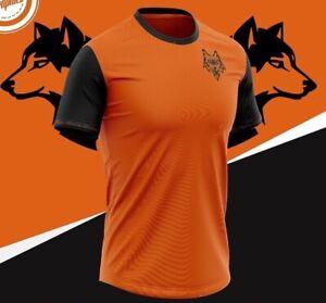Il-LUPO-Wolverhampton-Wanderers-Wolves-Stile-T-shirt-Girocollo-S-XXXL-nuovo-con-etichetta