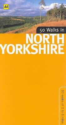 """""""AS NEW"""" 50 Walks in North Yorkshire, Winpenny, David, Book"""