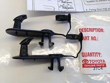 Toyota  Floor Mat Retention Clip Set of 2 Clips Holder holders Hook Hooks lexus