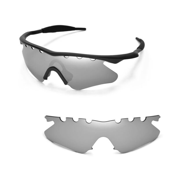 d403784a1b New WL Polarized Titanium Vented Sunglasses Lenses For Oakley M Frame Heater