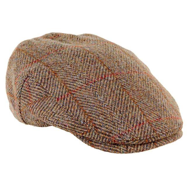 4a59fb095f Genuine Highland Harris Tweed Flat Cap