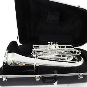 King-Model-2341WSP-Professional-4-Valve-Front-Action-BBb-Tuba-SN-560498-OPEN-BOX