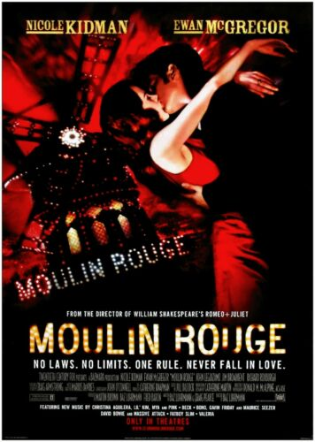 Moulin Rouge Classic Large Movie Poster Art Print Maxi A1 A2 A3 A4