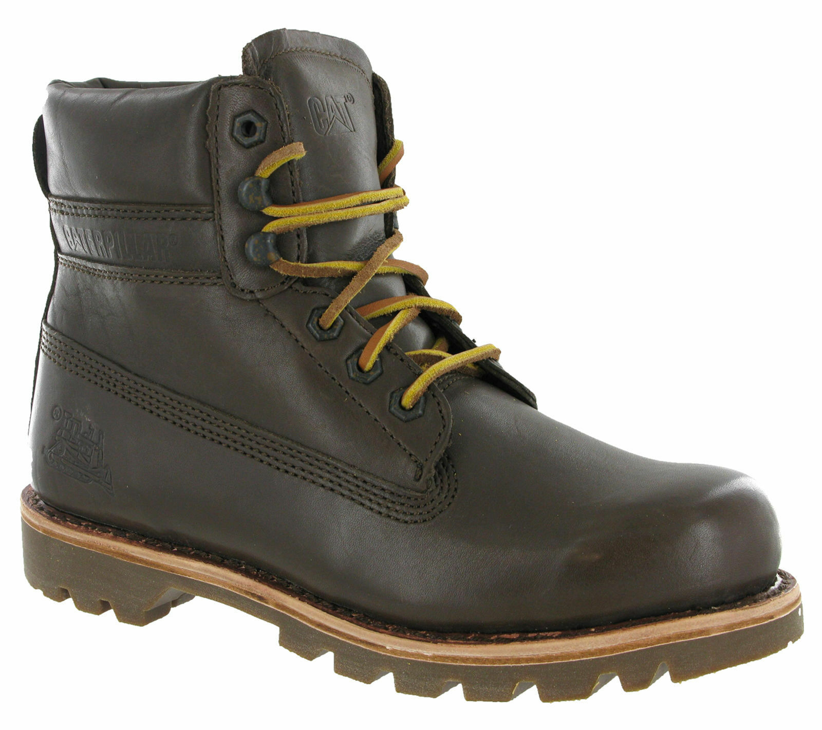 Caterpillar colorado Boots mudrick Leather, Low Wide Lace Cat Man