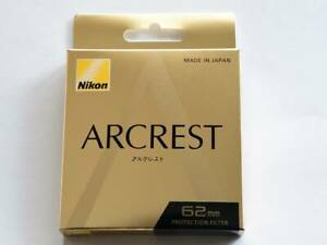 Brand-New-Unused-Nikon-Arcrest-Protection-Filter-62mm-AR-Coat-NC-Protector