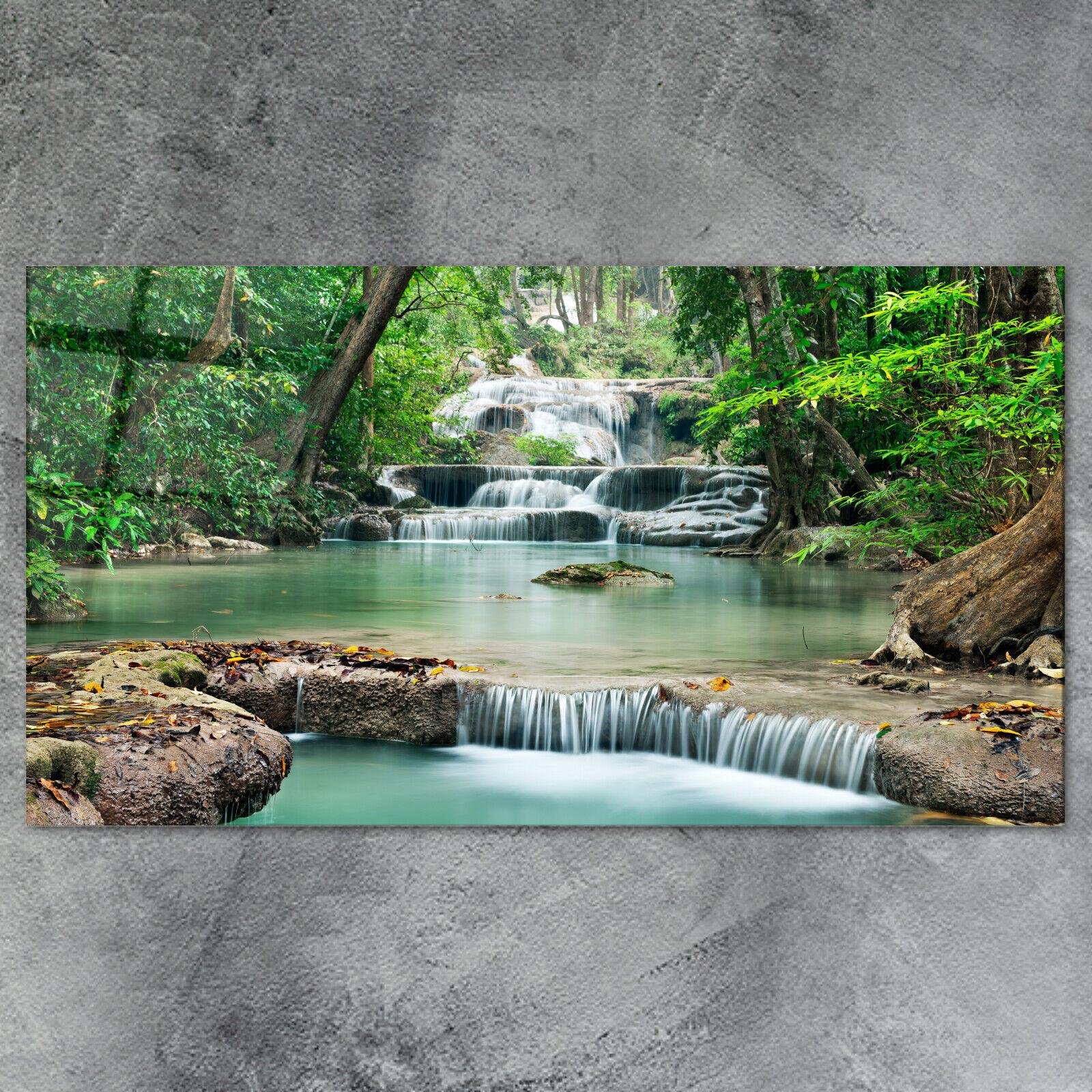 Glasbild Natur - viele Größen - Wandbild Spritzschutz Deko Wanddekoration