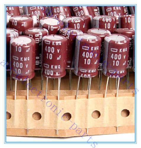 5pcs 10uf 400v NCC Radial Electrolytic Capacitors 10x16mm 400v10uf JAPAN