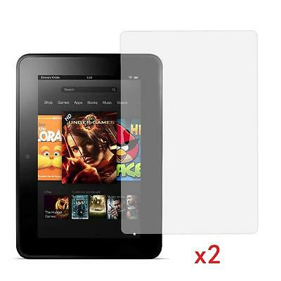 "2 X Clear Screen Protector Guard Per 8,9 ""pollici Amazon Kindle Fire I Transponder Hdx 16/32 Gb-"