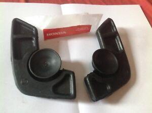 HONDA-C100-C50-C70-RIGHT-amp-LEFT-SIDE-SEAT-SADDLE-RUBBER-CUSHION-GENUINE-NOS