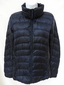 Auth UNIQLO Womens Navy Blue Lightweight Packable Quilted Down ... : uniqlo quilted jacket - Adamdwight.com