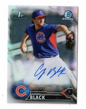 COREY BLACK MLB 2016 BOWMAN CHROME PROSPECT AUTO REFRACTOR (CHICAGO CUBS )