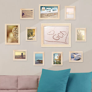 Pleasing Details About 11Pcs Wall Hanging Photo Frame Set Family Picture Display Modern Art Home Decor Download Free Architecture Designs Scobabritishbridgeorg
