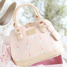 Mori Girl Elegant Rabbit Print Handbags Sweet Lolita Messenger Bag Shoulder Bags