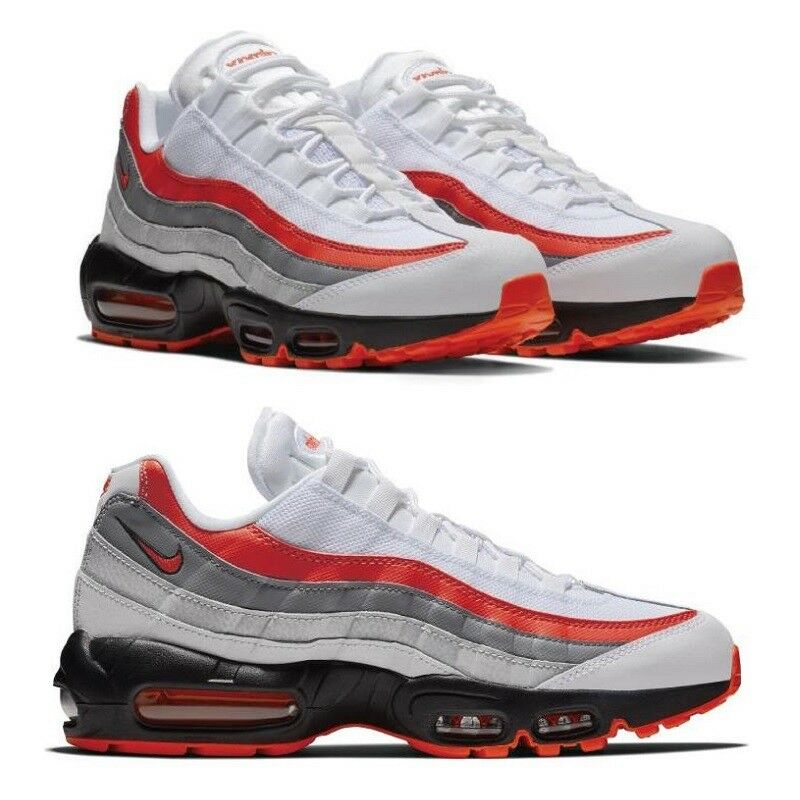 Nike Air Max 95 Essential Bright Crimson Hommes  Chaussures Lifestyle Comfy Sneakers