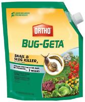 (4) Ea Ortho 0475610 6 Lb Bug-geta Snail & Slug Killer 2 Bait