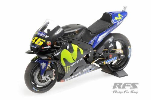 Valentino Rossi Yamaha yzr-m1 MotoGP Test Valence 2017 1:12 Minichamps NEUF
