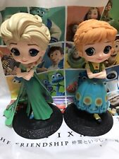 Banpresto Q posket Disney Frozen Anna Authentic Japan Figure B Color Type Toy