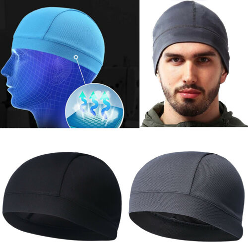 Cycling Skull Cap Liner Breathable  Beanies Outdoor Hats Running Sports Helmet