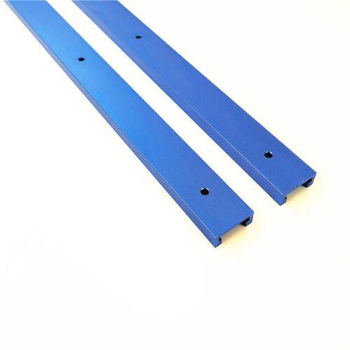 1x T-Track Führungsschiene T-Nut Werkzeuge Für Holzbearbeitung Spannvorrichtung