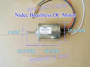 F Nidec 6v 12v Inner Rotor Dc Motor Brushless Motor Pwm