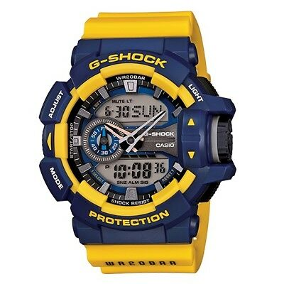 Casio G-Shock GA-400-9B Magnetic Resistant Standard Analog Digital Men's Watch