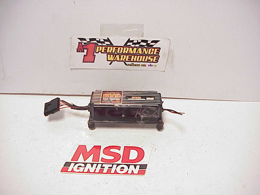 MSD 6600 for sale online | eBay | Hvc 6600 Wiring Diagram Ignition |  | eBay