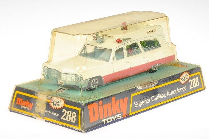 DINKY TOYS 1 43 288 Cadillac Ambulance TLK27627