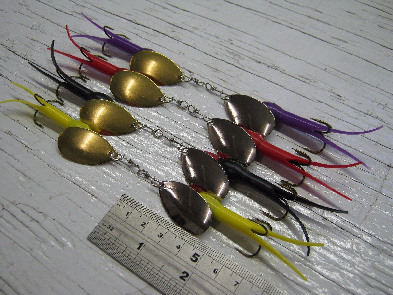 a10. 8 pêche C FILATEURS court corps LEURRE 10g #3, Bass Bass #3, 6cc591