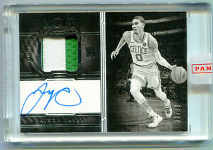 JAYSON-TATUM-2017-18-Panini-Noir-Rookie-Auto-Jersey-Patch-Card-RC-RPA-SP-23-99
