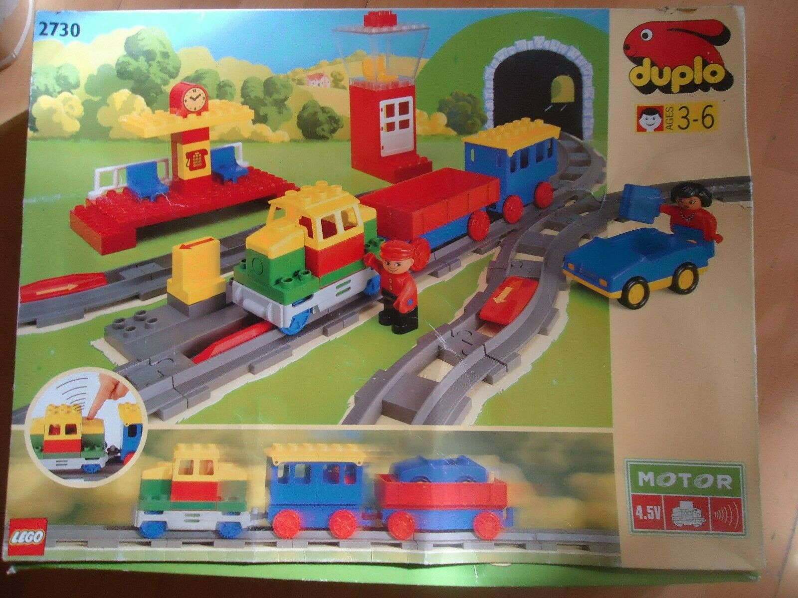 Lego Duplo Eisenbahn 2730 OVP OVP OVP b81c5b