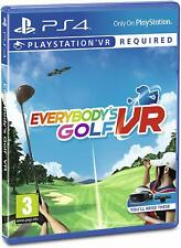 Everybodys Golf VR PS4 Playstation 4 Brand New & Sealed UK PAL Free UK P&P