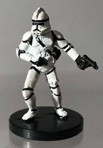 Star Wars Miniatures Clone Trooper Gunner Revenge Sith Republic 8 Micro 11 60 Ebay