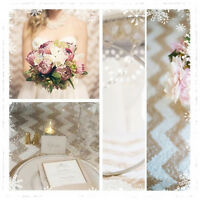Champagne Chevron Sequin Backdrop For Decrate Wedding/party.pick Your Size