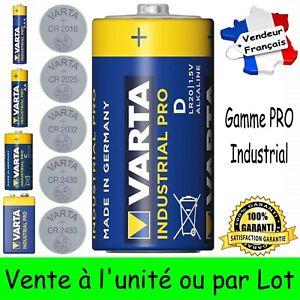VARTA BULK LR20 Dispo aussi Piles 6LR61 LR14 LR3 LR6 CR 2016 2025 2032 2430 2450
