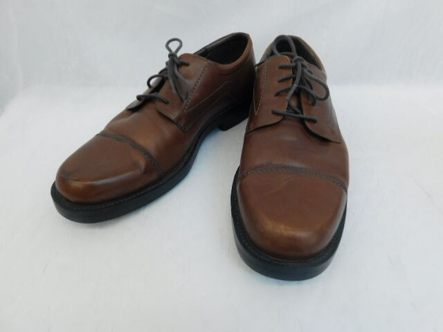 BOSTONIAN BROWN LEATHER MENS SHOES SIZE 10M 23042