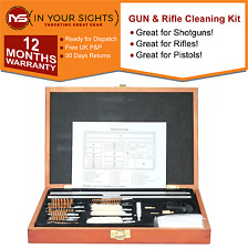 Gun & Rifle barrel cleaning kit /Air Rifle,Pistol,Shotgun pull through brush set